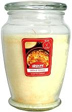 """Парфюмерия и Козметика Ароматна свещ """"Крем брюле"""" - Airpure Creme Brulee Scented Candle"""