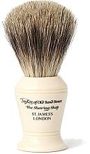 Парфюмерия и Козметика Четка за бръснене, P375 - Taylor of Old Bond Street Shaving Brush Pure Badger size M