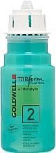 Парфюмерия и Козметика Кадрин за пореста или боядисана коса - Goldwell Topform Foam Wave 2