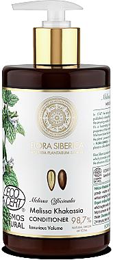 Балсам за тънка лишена от обем коса - Natura Siberica Flora Siberica Melissa Khakassia Hair Conditioner