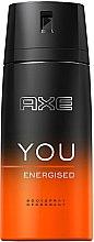 Парфюми, Парфюмерия, козметика Спрей дезодорант - Axe You Energised Deodorant Spray