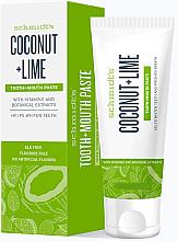 Парфюми, Парфюмерия, козметика Паста за зъби - Schmidt's Coconut Lime Toothpaste