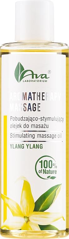 Стимулиращо масажно масло с иланг-иланг - Ava Laboratorium Aromatherapy Massage Stimulating Massage Oil Ylang-Ylang