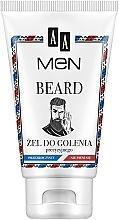 Парфюмерия и Козметика Гел за бръснене - AA Men Beard Shaving Gel