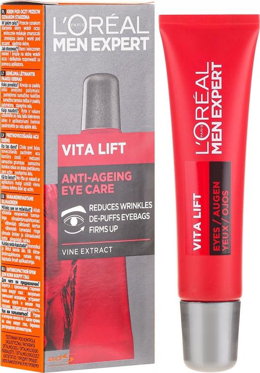 Околоочен крем за мъже - L'Oreal Paris Men Expert Vita Lift Eye Cream