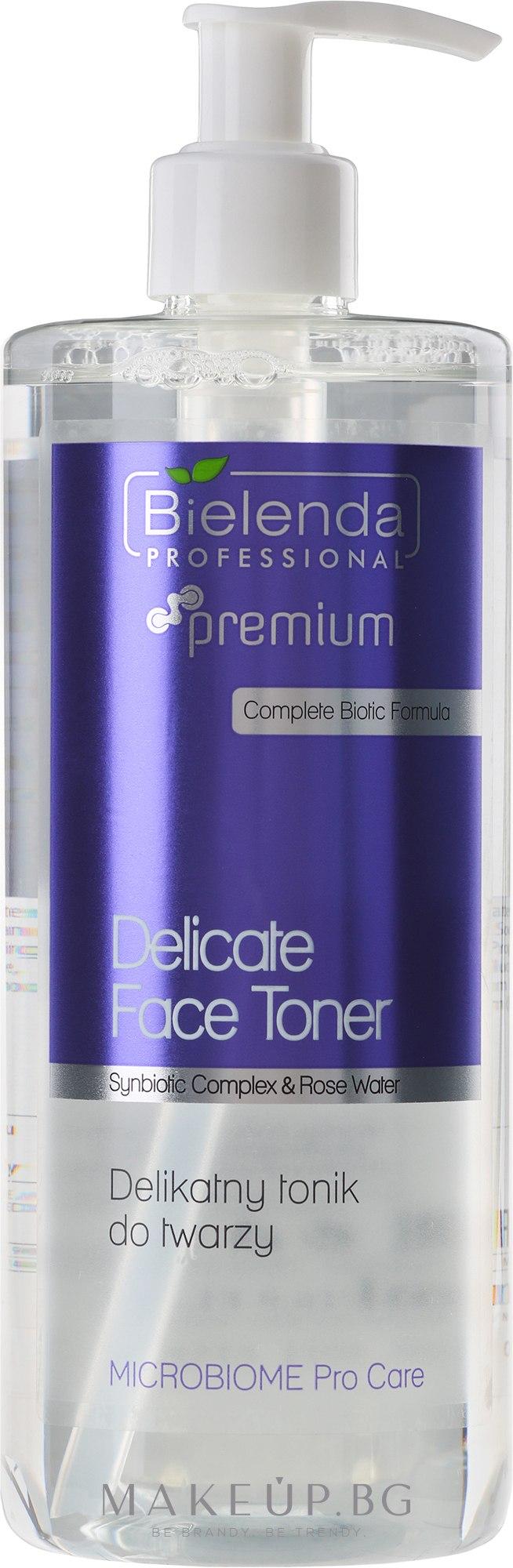 Възстановяващ тоник за лице - Bielenda Professional Microbiome Pro Care — снимка 500 ml