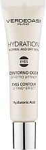 Парфюмерия и Козметика Хидратиращ околоочен гел с лифтинг ефект - Verdeoasi Hydrating Eyes Contour Lifting Effect