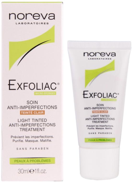Тонален матиращ крем - Noreva Laboratoires Exfoliac Soin Anti-Imperfections — снимка N1
