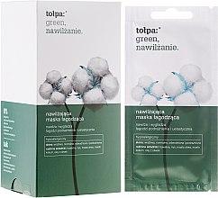 Парфюмерия и Козметика Успокояваща овлажняваща маска за лице - Tolpa Green Hydration Moisturizing Soothing Mask