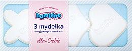 Парфюми, Парфюмерия, козметика Комплект детски бели сапуни - Bambino (soap/3pc)
