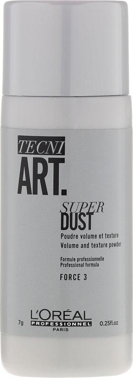 Пудра за обем и фиксация от корените - L'Oreal Professionnel Tecni.Art Super Dust Force 3