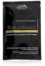 Парфюмерия и Козметика Изсветлител за коса - Joanna Professional Platinum Classic Lightener (саше)