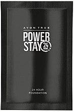 Парфюми, Парфюмерия, козметика Супер дълготраен фон дьо тен - Avon Power Stay 24H (мостра)