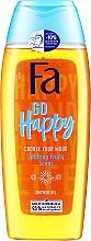 Парфюмерия и Козметика Душ гел с плодов аромат - Fa Go Happy Shower Gel