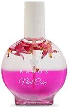 Парфюмерия и Козметика Масло за нокти и кожички - Kabos Nail Oil Pink Flowers