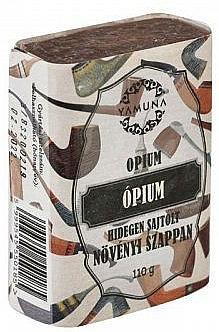 "Студено пресован сапун ""Опиум"" - Yamuna Opium Cold Pressed Soap"