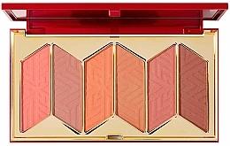 Парфюмерия и Козметика Палитра ружове за лице - Pur X Barbie Malibu Blush Signature 6-Piece Blush Palette