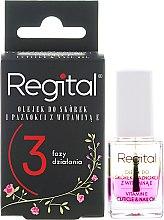 Парфюмерия и Козметика Трифазно масло за нокти и кожички - Regital Three-phase Cuticle And Nail Oil