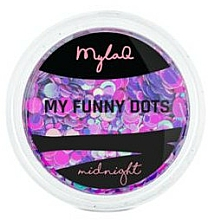 Парфюмерия и Козметика Пайети за декориране на нокти - MylaQ My Funny Dots
