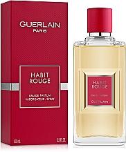 Guerlain Habit Rouge - Парфюмна вода — снимка N2