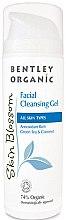 Парфюмерия и Козметика Почистващ гел за лице - Bentley Organic Skin Blossom Hydravitality Conditioner
