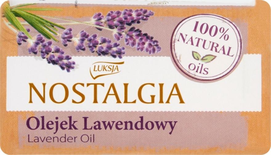 "Сапун ""Лавандулово масло"" - Luksja Nostalgia Lavender Oil Soap"