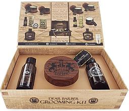 Парфюмерия и Козметика Комплект - Dear Barber Collection V Style & Go Shaping Cream (shmp/50ml + shap/cr/100ml + edt/30ml)