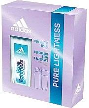 Парфюми, Парфюмерия, козметика Adidas Pure Lightness - Комплект за тяло(део/75ml+спрей/150ml)