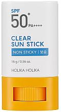 Парфюми, Парфюмерия, козметика Слънцезащитен стик - Holika Holika Clear Sun Stick SPF50+