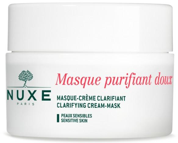 Почистваща крем маска с розови листенца за лице и деколте - Nuxe Clarifying Cream-Mask With Rose Petals — снимка N1