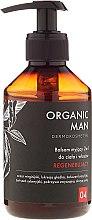 Парфюми, Парфюмерия, козметика Възстановяващ балсам за коса и тяло - Organic Life Dermocosmetics Man