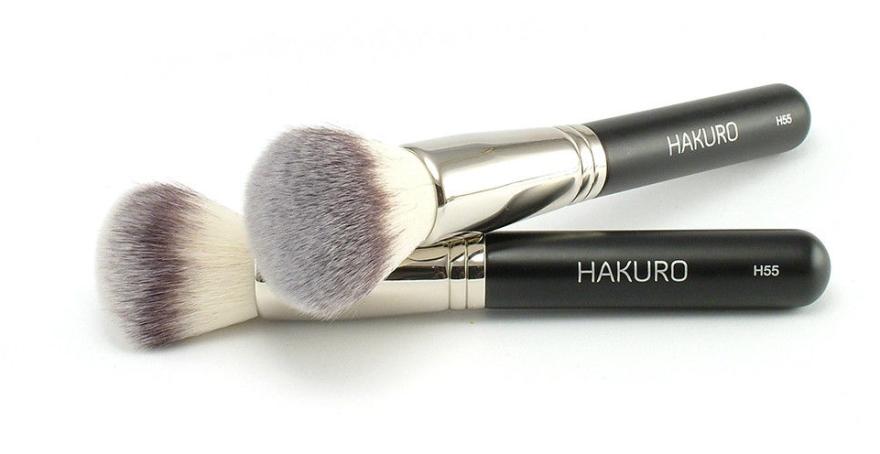"""Четка за пудра """"Н55"""" - Hakuro — снимка N1"""