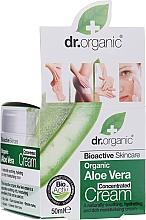 Парфюмерия и Козметика Концентриран крем за лице с алое вера - Dr.Organic Bioactive Skincare Aloe Vera Concentrated Cream