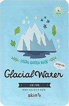 Парфюмерия и Козметика Маска за лице от плат - Skin79 Fresh Garden Mask Glacial Water