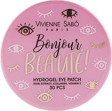Парфюмерия и Козметика Хидрогел пачове за под очи - Vivienne Sabo Bonjour, Beaute! Hydrogel
