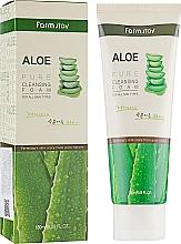 Парфюмерия и Козметика Измиваща пяна за лице с екстракт от алое - FarmStay Pure Cleansing Foam Aloe