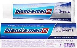 """Парфюмерия и Козметика Паста за зъби """"Арктическа свежест"""" - Blend-a-med 3D White Arctic Freshness"""