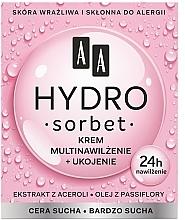 Парфюмерия и Козметика Подхранващ мултифункционален крем за лице - AA Hydro Sorbet Moisturising & Nutrition Cream