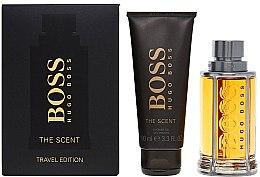Парфюмерия и Козметика Hugo Boss The Scent Travel Edition - Комплект (тоал вода/100ml + душ гел/100ml)