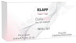 Парфюмерия и Козметика Комплект за лице - Klapp CollaGen Fill-Up Therapy Refill Set