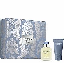 Парфюмерия и Козметика Dolce&Gabbana Light Blue Pour Homme - Комплект (тоал.вода/75ml + афтър.басам/50ml)