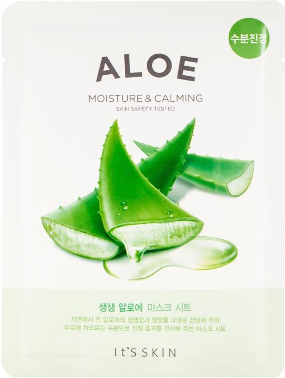 Памучна маска за лице с екстракт от алое - It's Skin The Fresh Mask Sheet Aloe — снимка N1