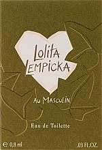 Парфюмерия и Козметика Lolita Lempicka Au Masculin - Тоалетна вода (мостра)