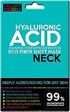 Парфюмерия и Козметика Маска за шия с хиалуронова киселина - Beauty Face IST Extremely Moisturizing Booster Neck Mask Hyaluronic Acid