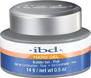 Гел за изграждане на нокти, розов - IBD Builder Pink Gel