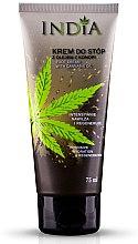 Парфюми, Парфюмерия, козметика Крем за крака с масло от коноп - India Foot Cream With Cannabis