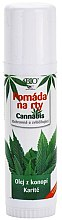 Парфюми, Парфюмерия, козметика Балсам за устни - Bione Cosmetics Cannabis Lip Balm with Shea Butter