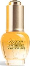 Парфюми, Парфюмерия, козметика Масло за лице - L'Occitane Immortelle Divine Youth Oil