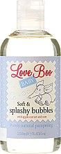 Парфюми, Парфюмерия, козметика Детска пяна за вана - Love Boo Baby Soft & Splashy Bubbles