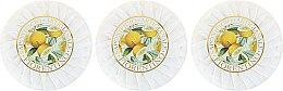 Комплект сапуни с аромат на лимон - Saponificio Artigianale Fiorentino Lemon Soap — снимка N2